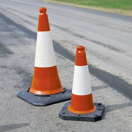Road works in Stantonbury Parish
