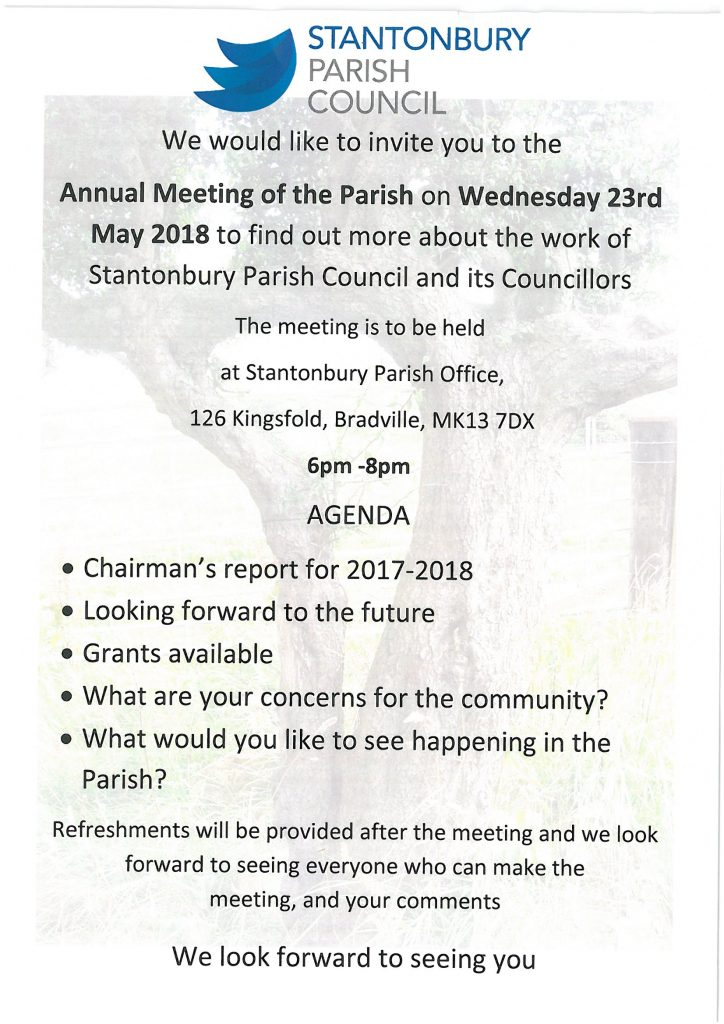 Meet the Councillors – Wednesday 23rd May 2018  – 6pm – 8pm