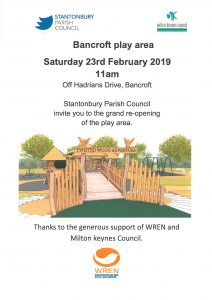 Bancroft Play Park Re-Opening